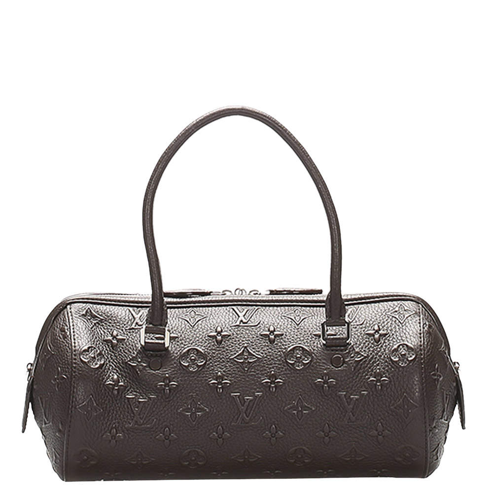 Louis Vuitton Brown Monogram Leather Revelation Neo Papillon PM Bag