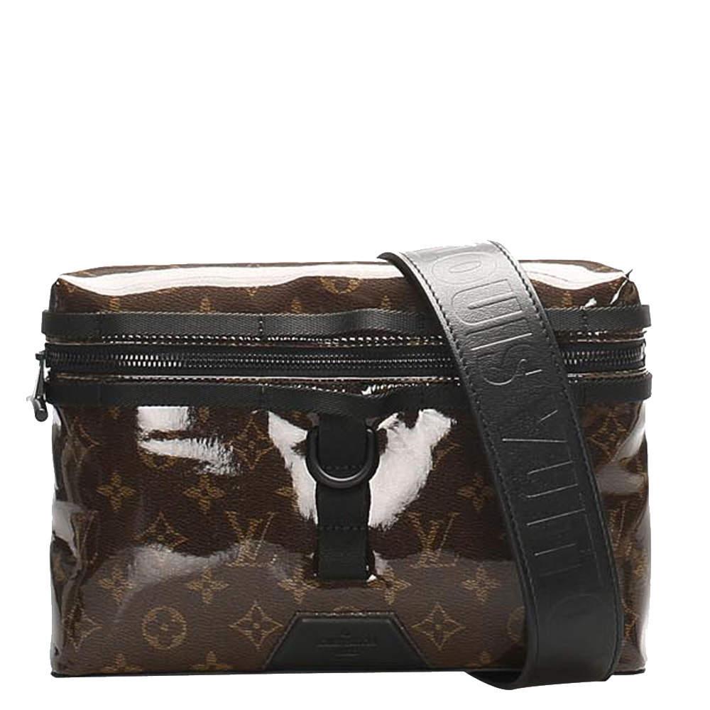 Louis Vuitton Monogram Canvas Glaze Messenger Bag