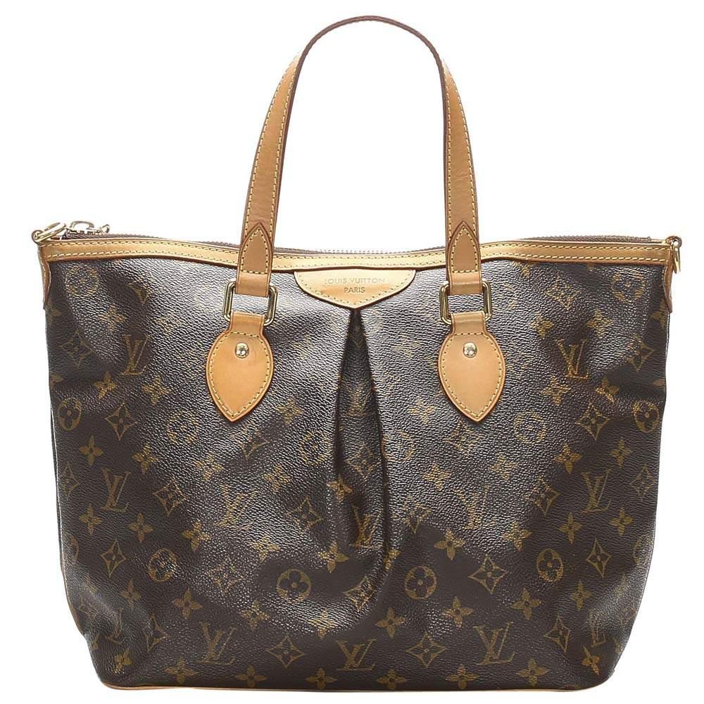 Louis Vuitton Monogram Canvas Palermo PM Bag