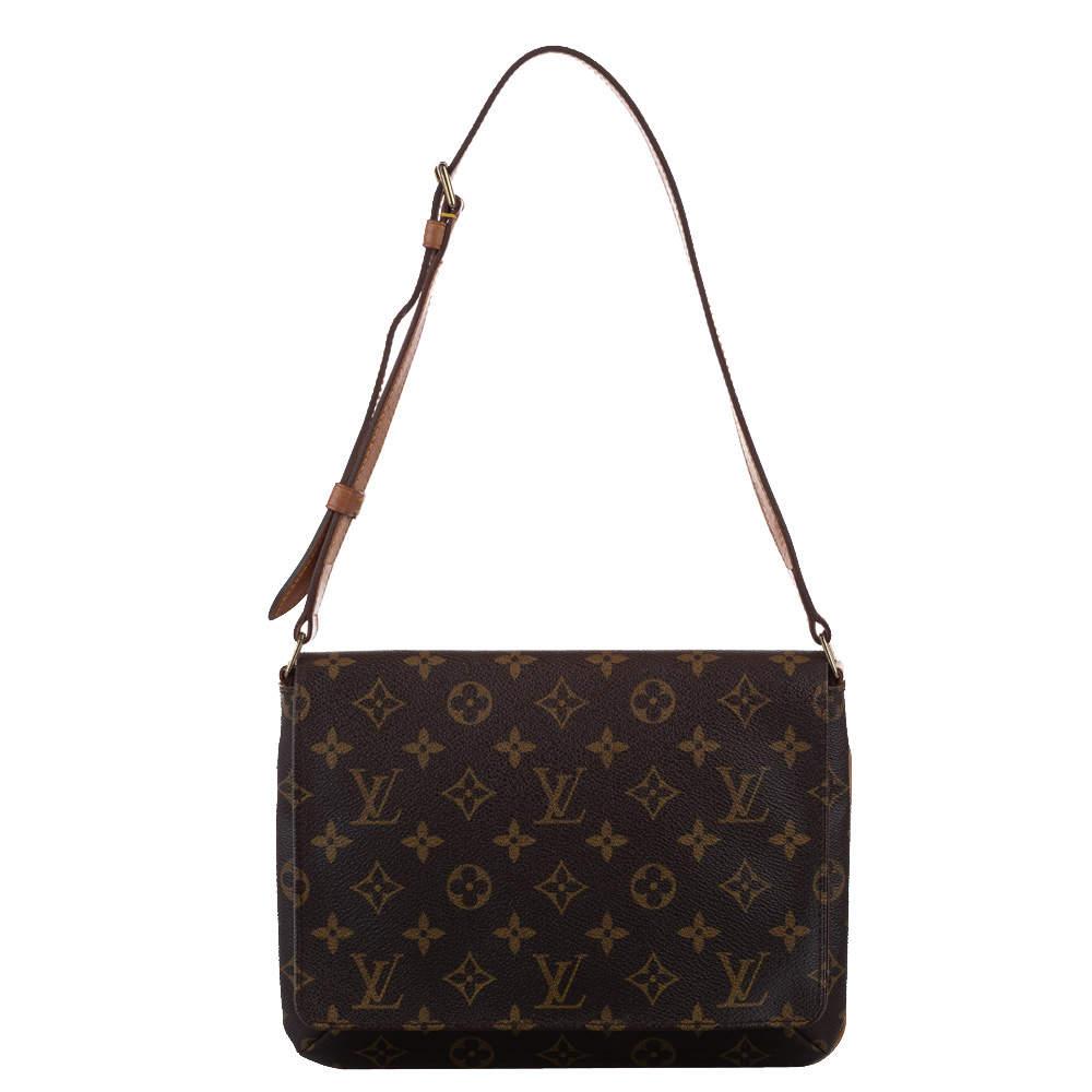 Louis Vuitton Monogram Musette Canvas Tango Short Strap Bag
