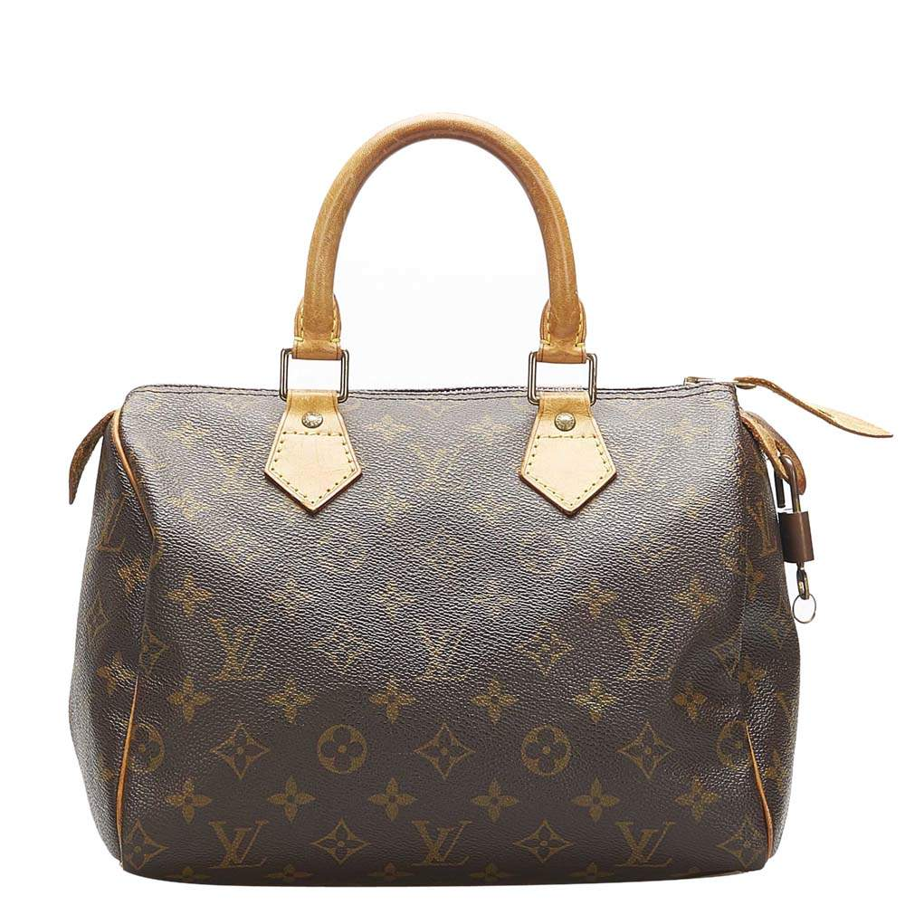 Louis Vuitton Monogram Canvas Speedy 25 Bag