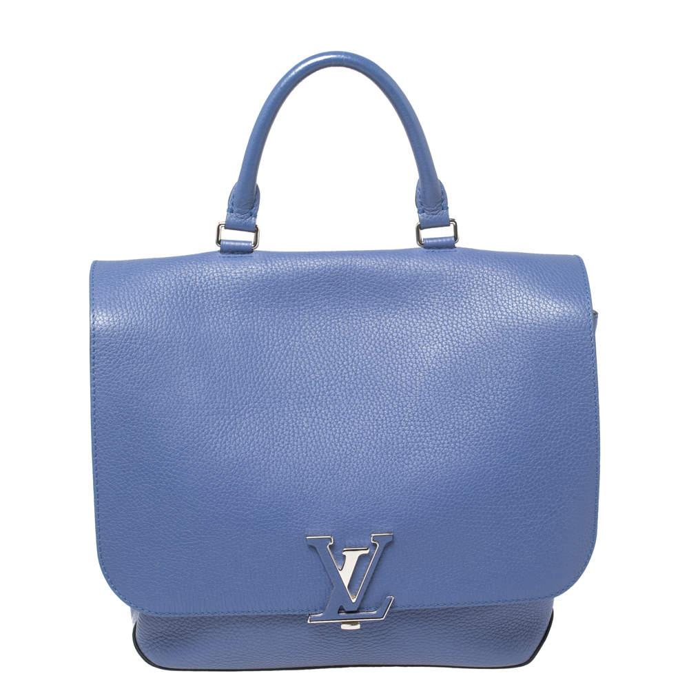 Louis Vuitton Denim Taurillon Leather Volta Bag