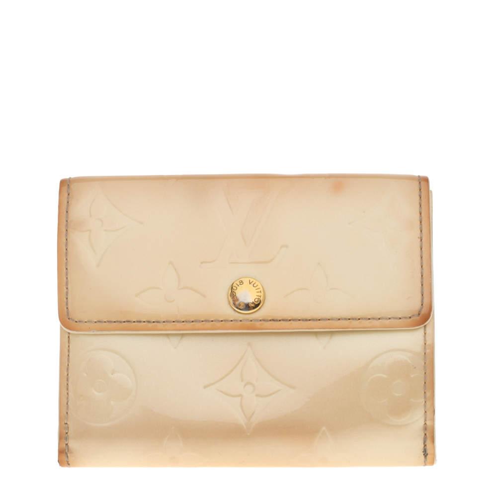 Louis Vuitton Perle Monogram Vernis Ludlow Wallet