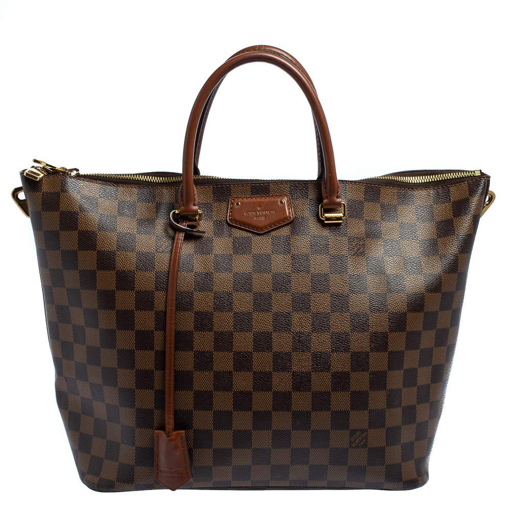 Louis Vuitton Damier Ebene Canvas Belmont Bag