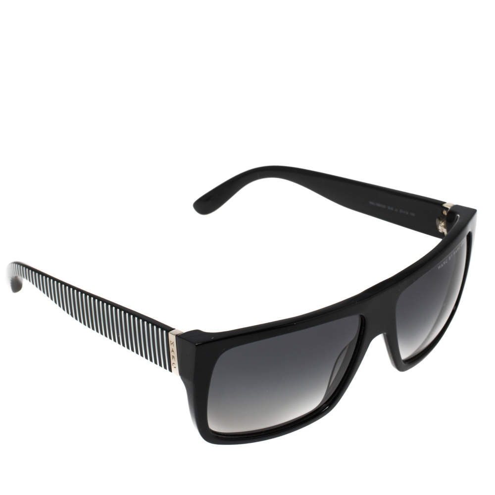 Marc by Marc Jacobs White/Black Gradient MMJ 096/N/S Square Sunglasses