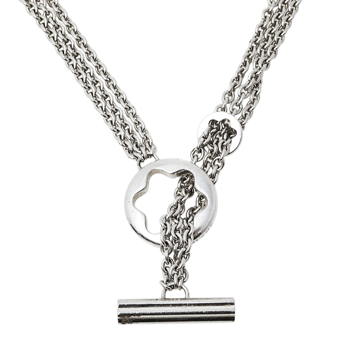 Montblanc Caress of a Star Sterling Silver Necklace