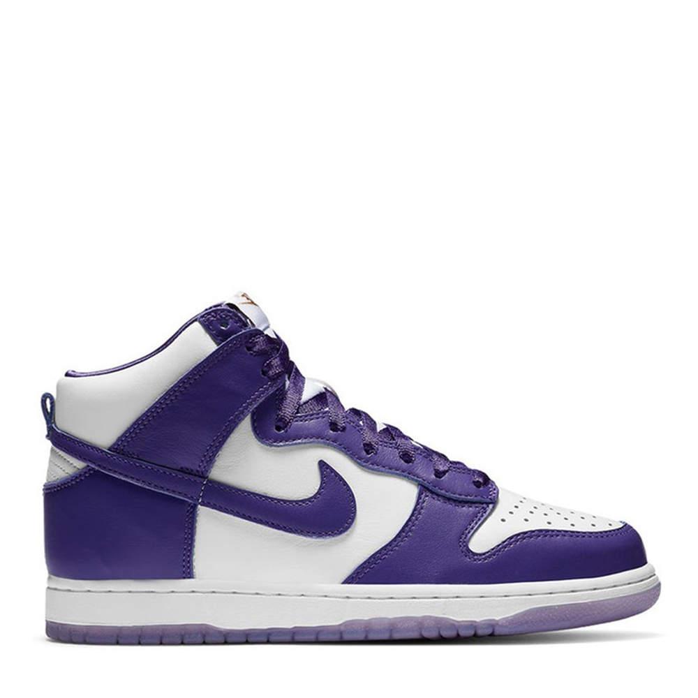 Nike Dunk High Varsity Purple Sneakers US Size 9W EU Size 40.5