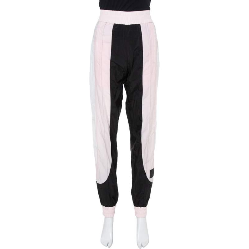 Palm Angels Light Pink Color Block Track Pants S