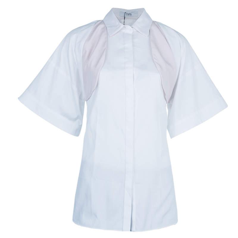 Prabal Gurung Oversized Button Shirt Top S
