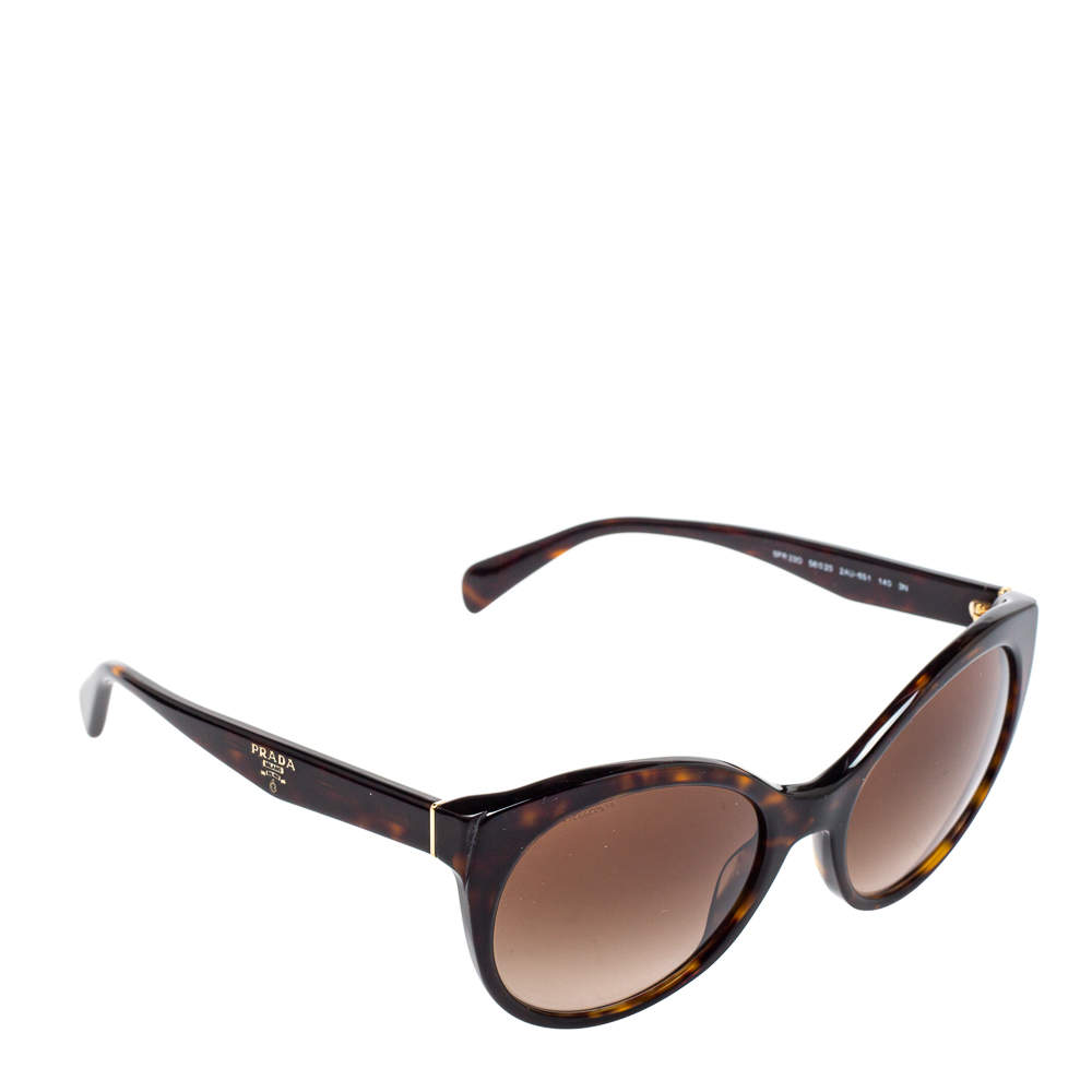 Prada Brown Havana/Brown Gradient SPR23O Sunglasses