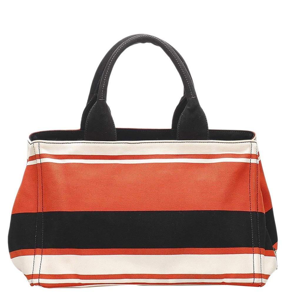Prada Multicolor Nylon Tessuto Stampato Bag