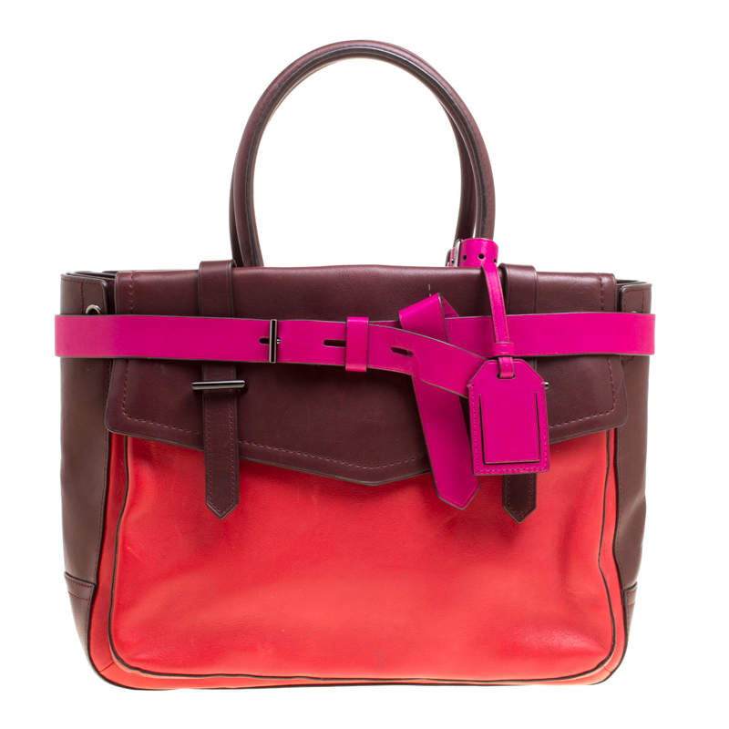 Reed Krakoff Multicolor Leather Boxer Tote