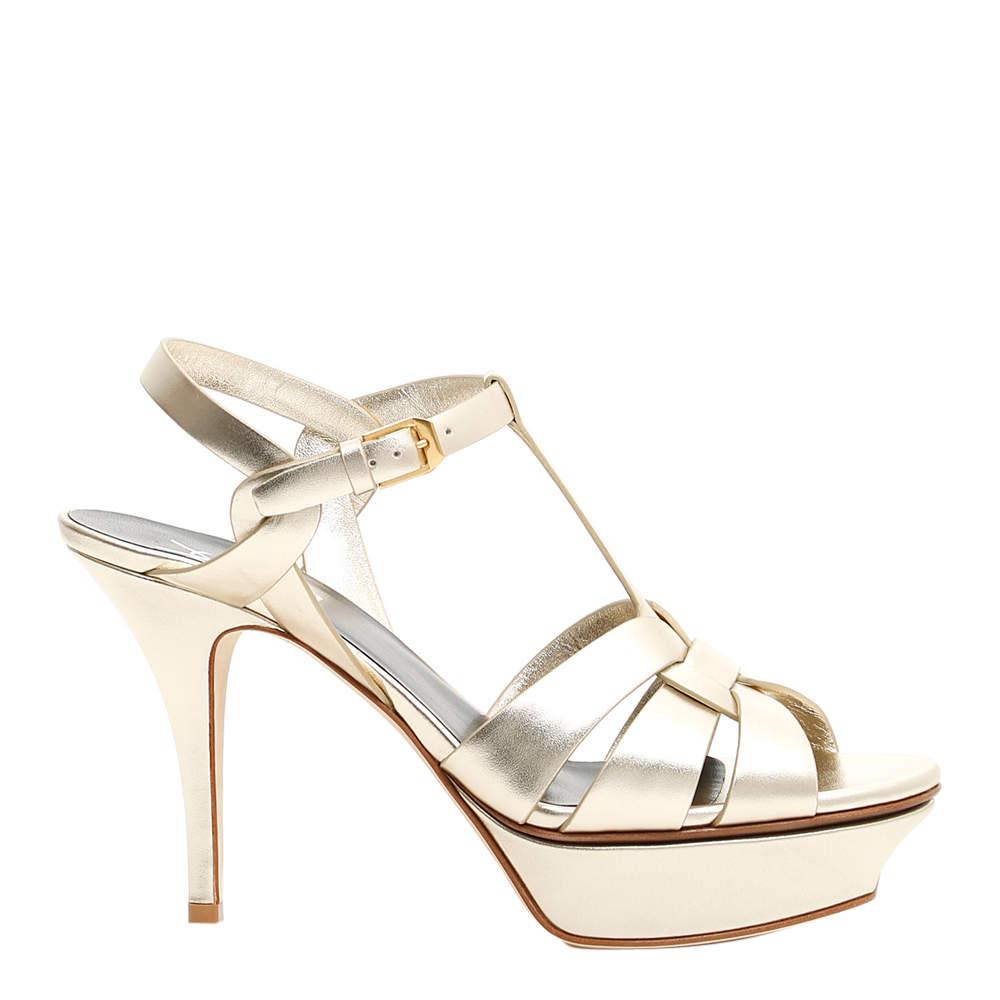 Saint Laurent Tribute Sandals Size EU 38