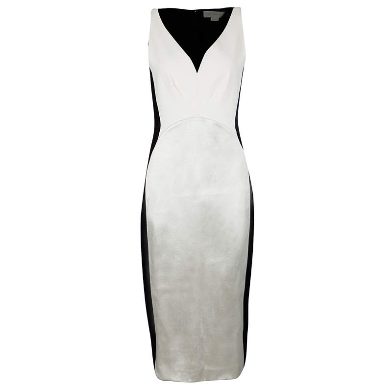 Stella McCartney Colorblock Sleeveless Sheath Dress M