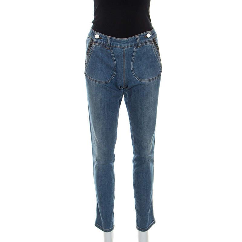 Stella McCartney Blue Denim Slim Fit Jeans M
