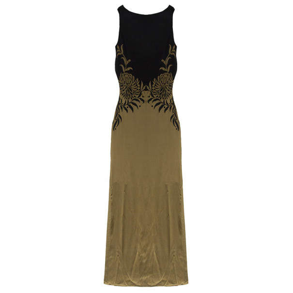 Temperley London Long Venetia Embroidered Gown M