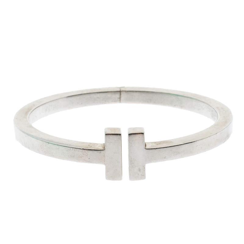 Tiffany & Co. Tiffany T Square Sterling Silver Bracelet