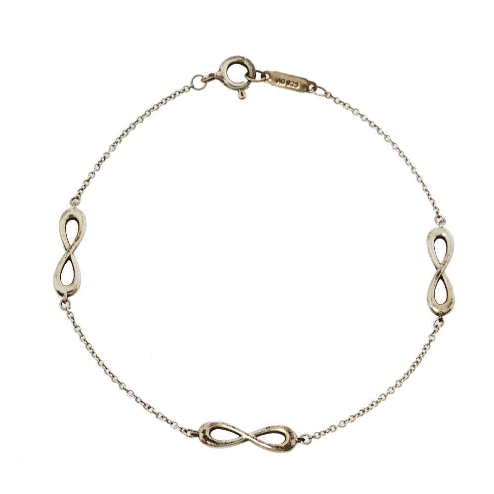 Tiffany & Co. Infinity Sterling Silver Endless Bracelet