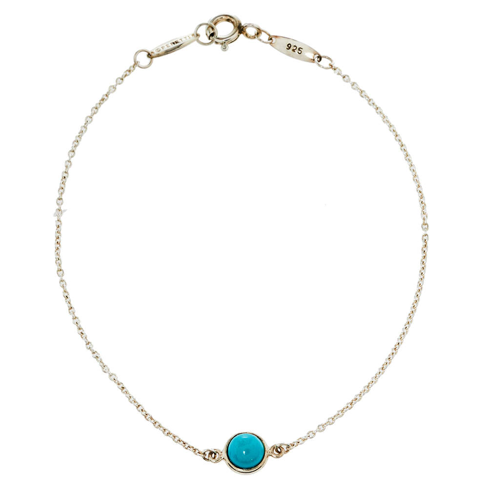 Tiffany & Co. Elsa Peretti Color By The Yard Sterling Silver Bracelet
