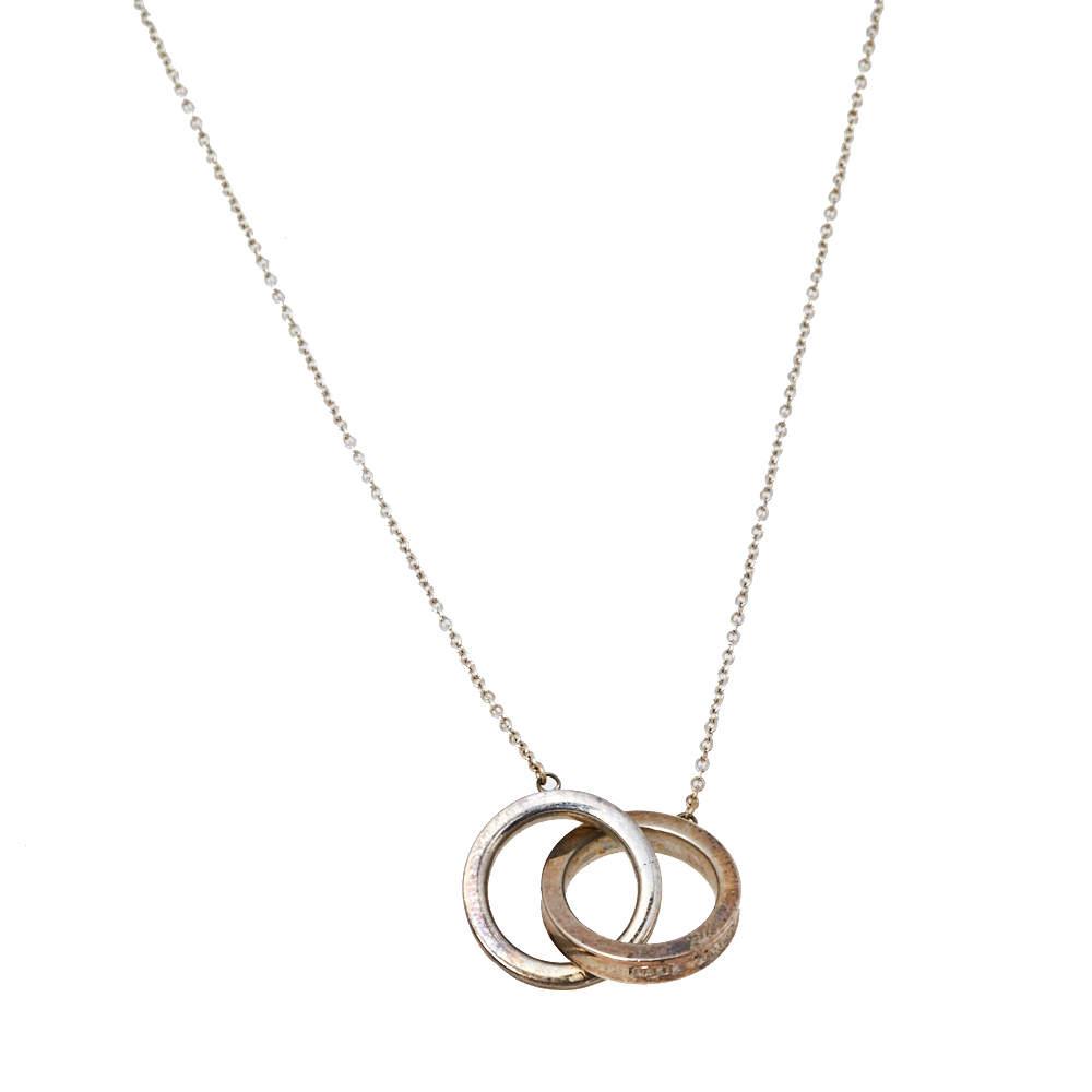 Tiffany & Co. 1837 Sterling silver Interlocking Circles Pendant