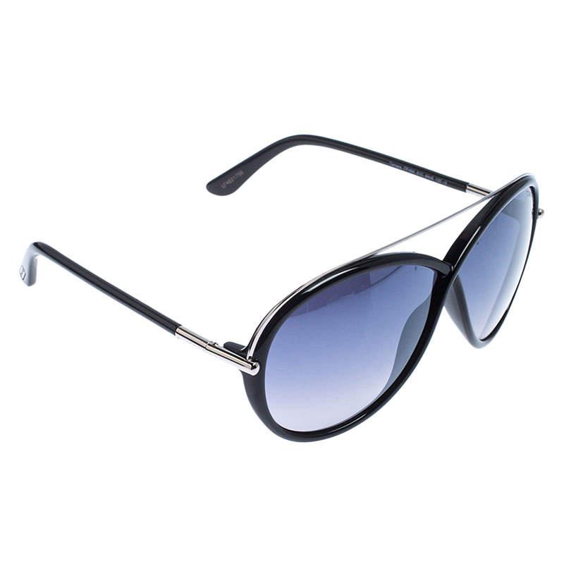 Tom Ford Black/Grey Gradient TF454 Tamara Butterfly Sunglasses