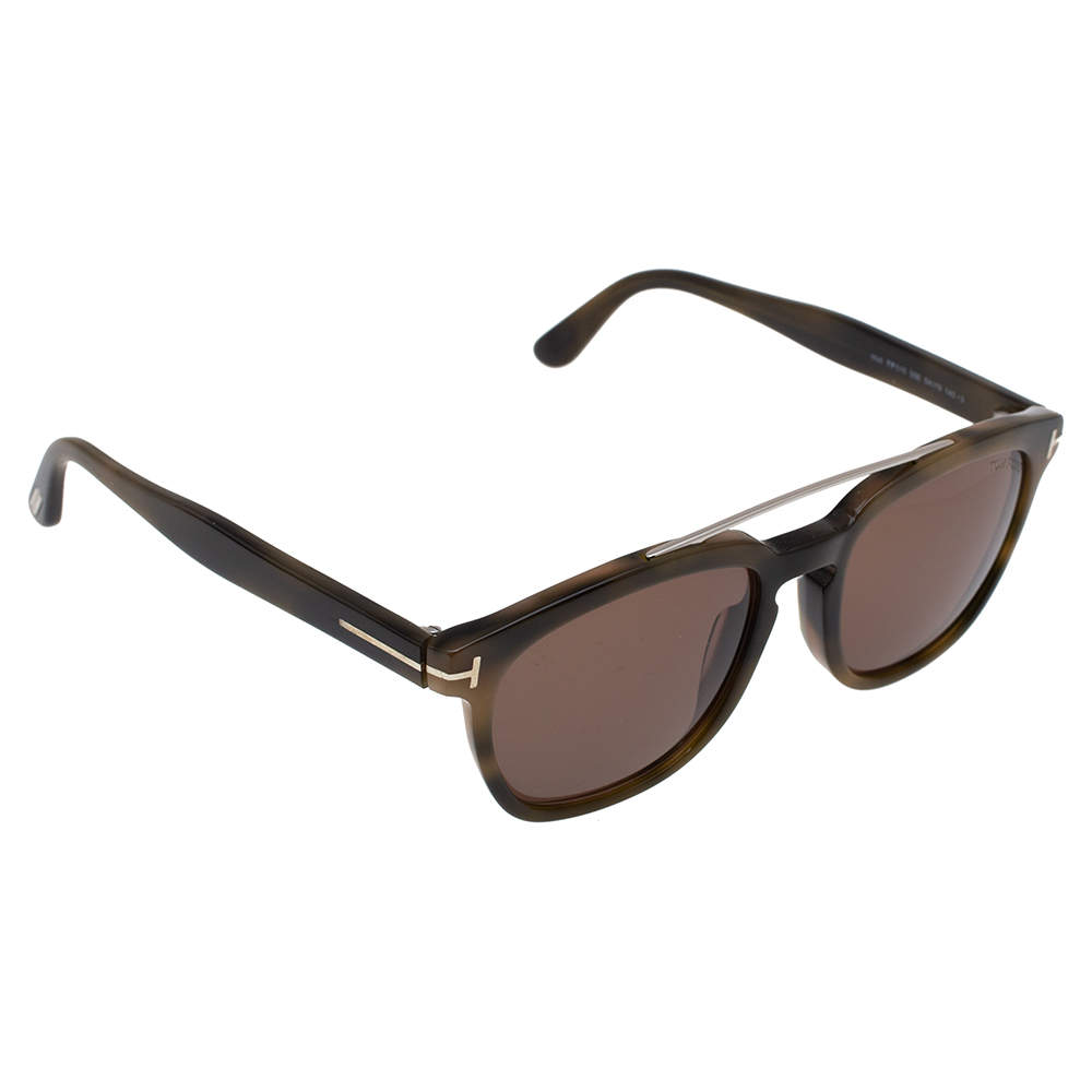 Tom Ford Blonde Havana/ Brown TF516 Holt Sunglasses