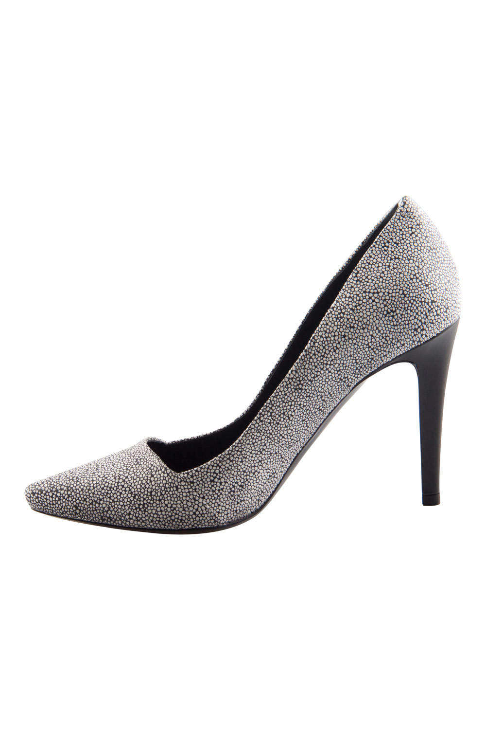 Proenza Schouler Two Tone Textured Suede Dragonfly Pumps Size 38