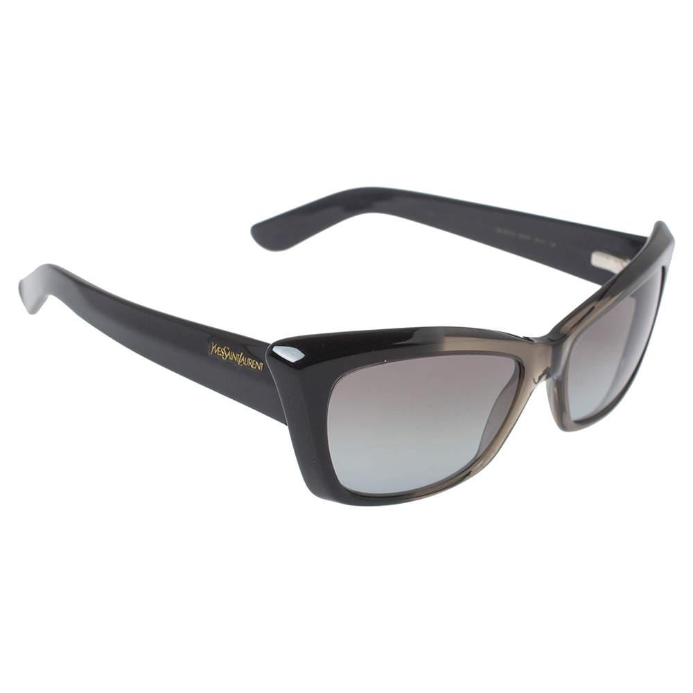 Yves Saint Laurent Paris Grey Degrade/ Grey 6337/S Cat Eye Sunglasses