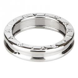 bvlgari bzero1 1band white gold ring size 52