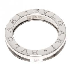 bvlgari bzero1 1band white gold ring size 48