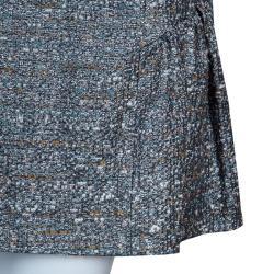 RED Valentino Grey Tweed Skirt M