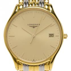 Longines Gold-Plated Stainless Steel Classique Men's Wristwatch 38MM