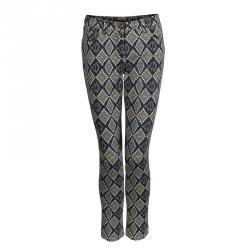 Etro Multicolor Diamond Pattern Printed Skinny Jeans M