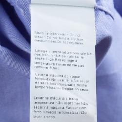 Boss by Hugo Boss Blue Long Sleeve Buttondown Cotton Shirt XL