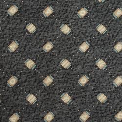 Bvlgari Grey Printed Silk Tie