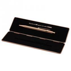 Caran D'ache Pink Steel 849 Brut Rose Ballpoint Pen