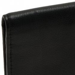 Dior Homme Black Leather Long Wallet