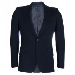 Gucci Navy Blue Wool Blazer S