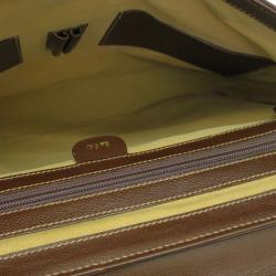 Gucci Brown Leather Briefcase
