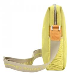 Louis Vuitton Jaune Damier Geant Limited Edition LV Cup Weatherly Bag