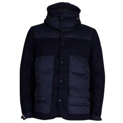 Moncler Grenoble Men's Navy Blue Jacket L