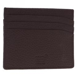 Montblanc Brown Leather Card Holder