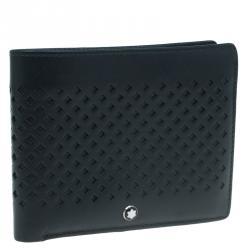 Montblanc Black Leather Extreme Bifold Wallet