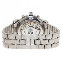 Montblanc Silver Stainless Steel Star Men's Wristwatch 37MM