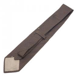 Moschino Grey Dancing M Tie