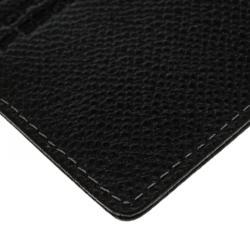 Porsche Design Black Leather P H6 Card Holder