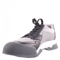 2bc5c326e حذاء رياضي برادا سبورت جلد وشبكة ثلاثي اللون مقاس 44