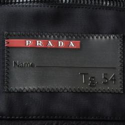 Prada Sport Black Hooded Jacket XXL