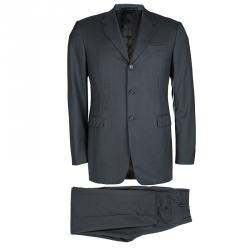 50cea3aa75b7 Prada Grey Wool Regular Fit Suit M