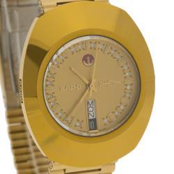 Rado Gold Stainless Steel DiaStar Men's Wristwatch 35MM